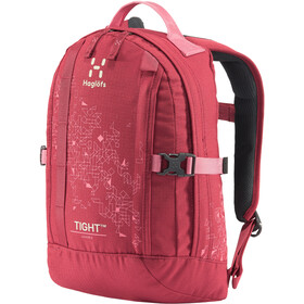 Haglöfs Tight 8 Mochila Jóvenes, brick red/tulip pink